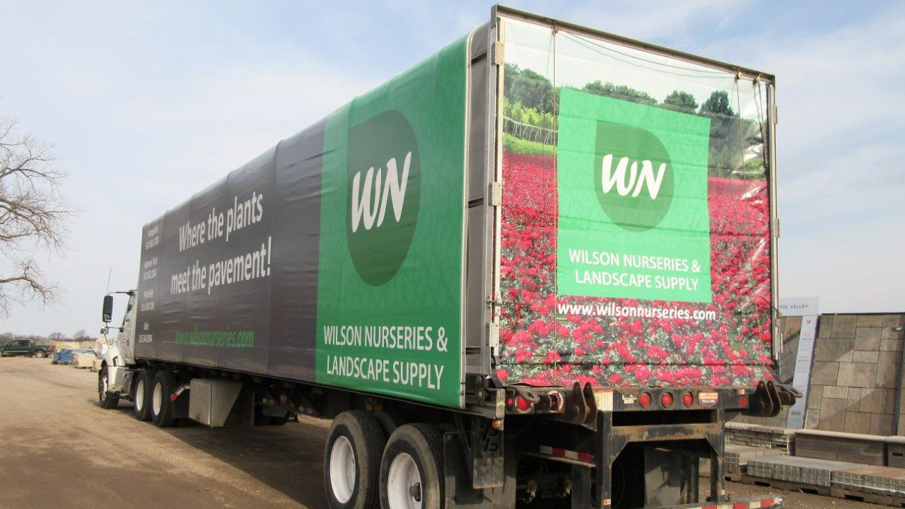 Delivery to your yard & jobsite! - Wilson Nurseries