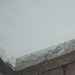 Chiseled Pillar Cap - Limestone