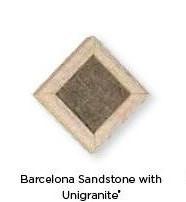barcelona-sandstone with unigranite