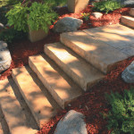 Chiseled steps - Project Photo