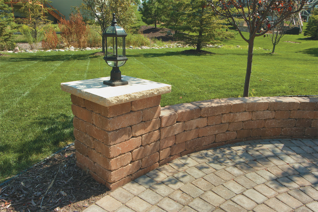 Riverland™ radius freestanding / retaining wall – Wilson Nurseries