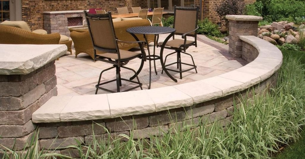 Ledgestone Steps Amp Coping Wilson Nurseries