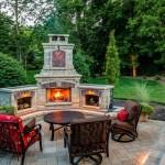 tuscany fireplace installed
